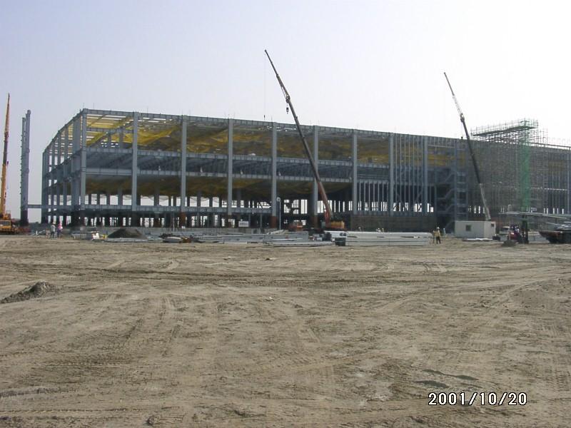 中鹿營造-台灣凸版國際彩光台南廠新建工程